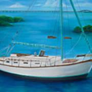 Matilda In The Florida Keys Art Print