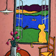 Matisse's Cat Art Print