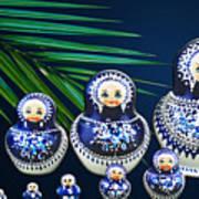 Matreshka Doll Art Print