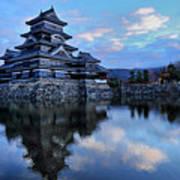Matsumoto Castle 1182 Art Print