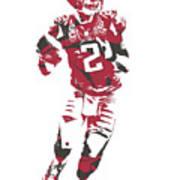 Matt Ryan Atlanta Falcons Pixel Art 6 Art Print