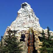 Matterhorn Disneyland Art Print