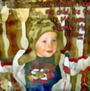 Matthew 18 5 Art Print