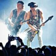 Matthias Jabs And Rudolf Schenker Shredding Art Print