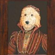 Mattie As A Noblewoman Art Print