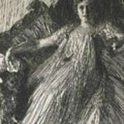 Maud Cassel Art Print