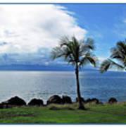 Maui Clouds Art Print