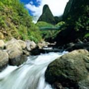 Maui, Iao Needle Art Print