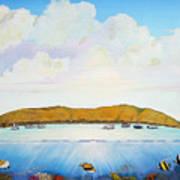 Maui Molokini Magic Art Print