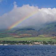 Maui Rainbow Art Print