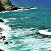 Maui Seascape Art Print