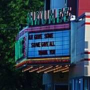 Maumee Movie Theater I Art Print