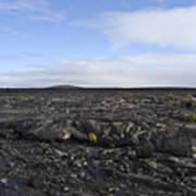 Mauna Loa Lava Art Print