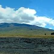 Mauna Loa Panorama Art Print