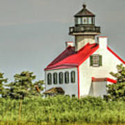 Maurice River, New Jersey, East Pointe  Lighthouse Art Print