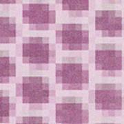 Mauve Plaid Pattern Art Print