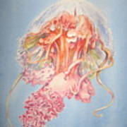 Mauve Stinger Art Print