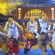 Mavericks Defeat The King And His Court Art Print