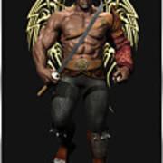 Maximus The Vampire Slayer 01 Art Print