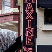 Maxine's Saloon Art Print