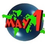 May Day Art Print