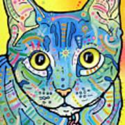 Maya Vintage Print by Dean Russo