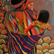 Mayan Family Art Print