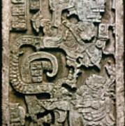 Mayan Glyph Art Print