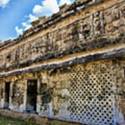 Mayan Graffiti  Art Print