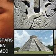 Mayan Olmec Art Print