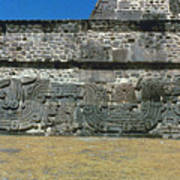 Mayan Pyramid, C450 A.d Art Print