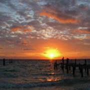 Mayan Riviera Sunrise Art Print