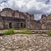 Mayan Ruins 1 Art Print