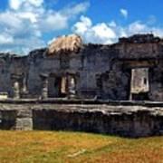 Mayan Ruins In Tulum 2 Art Print