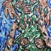 Mayan Snake King Missing Dynasties Art Print