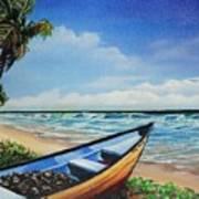 Mayaro Beach Art Print