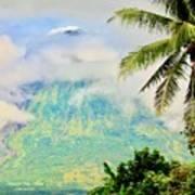 Mayon Volcano Art Print