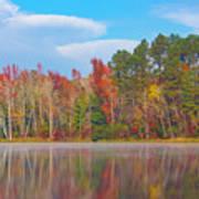 Mayor's Pond, Autumn, #4 Art Print