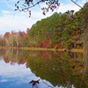 Mayor's Pond, Autumn, #7 Art Print