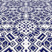 Maze Pattern Art Print