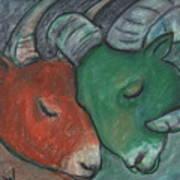 Mazi Aries Art Print