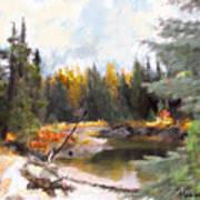 Mccall Landscape Art Print