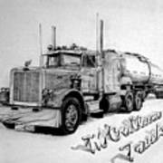 Mccallum Trucking Art Print