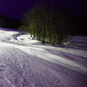 Mccauley Evening Snowscape Art Print