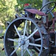 Mccormic Deering Farm Tractor   # Art Print