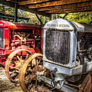 Mccormick Deering Tractors II Art Print