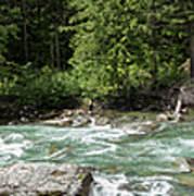 Mcdonald Creek Panorama Art Print