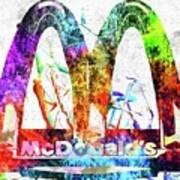 Mcdonalds Art Print