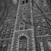 Mcgraw Hall - Bw Art Print