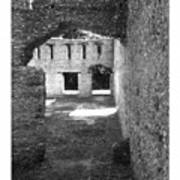 Mcintosh Sugar Mill Tabby Ruins Arch Art Print